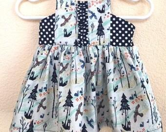 Applewood Dress -- Size Newborn