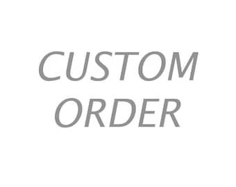 CUSTOM ORDER - Hand Knitted Fair Isle Knee Socks