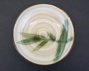 Vintage 1955 Showa 'Kasuga' Bamboo Berry Bowls, Set of 8 (E8249)
