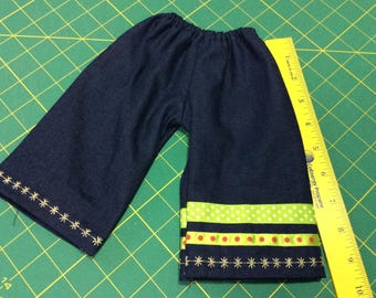 Crazy jeans, Waldorf doll clothes