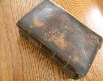 Antique HOLY BIBLE, Old and New Testaments, American Bible Society, 1821