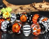 AV-Beads handmade Lampwork Set SRA