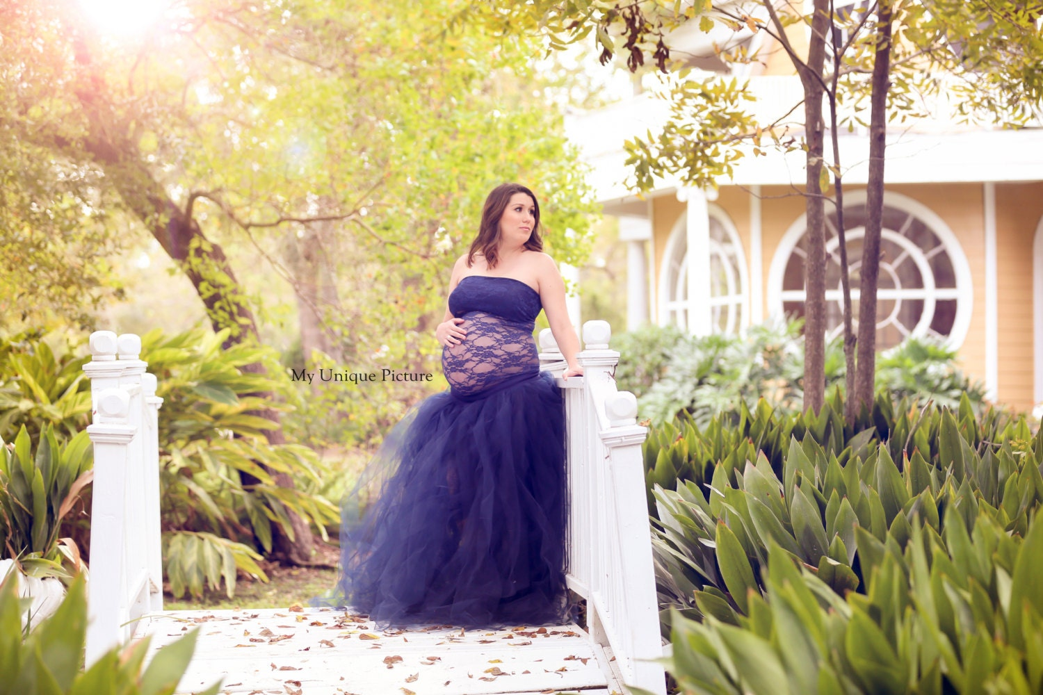 Navy full length tutu maternity skirtmaternity tulle skirt zoom ombrellifo Image collections