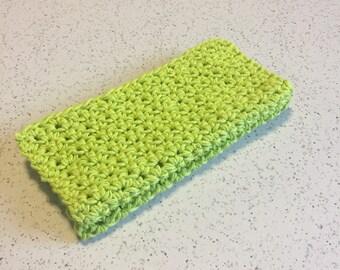 Set of 2 Handmade Crochet Kitchen or Bath Washcloths Dishcloths Kitchen Bath Baby washcloth