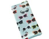 Eyeglasses Case - Stocking Stuffer - Gift for Grandma - Retro Eyeglasses Pouch - Gift Under 10 - Gift for Baby Boomer