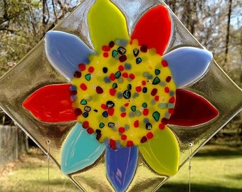 Fun & Funky Flower wind chimes!