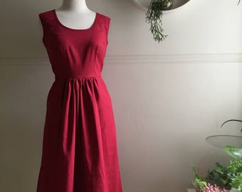 Nina Dress Cherry