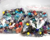 Clearance Assorted Beads -6oz