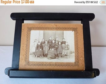 ON SALE for a week Shabby Chic - French Antique Photograph - Shabby french Photo - French old Sepia Photo - French Antique Picture - French