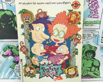 The Rugrats Movie Book - Nickelodeon - Young Adults