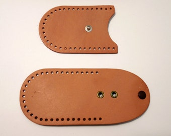 Vintage Tandy Leather Key Kup Kit with Instructions #4113, Vintage Accessories, Vintage Key Holder, Tandy Leather Co., Vintage LEATHERWORKS