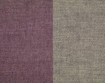 HEAVYWEIGHT linen-blend fabric