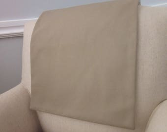 """Headrest Chair Protector or Cover, 30"""" x 14"""", Recliner/Chair/Sofa Head Rest Cover, Antimacassar, Fabric or Leather Furniture"""