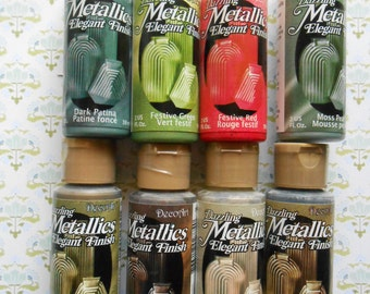 SALE 50 % OFF  Dazzling Metallic Acrylic Elegant Finish Acrylic Paint
