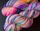 Mt. Hood Sunrise v2 - Vintage DK Yarn: 100% Superwash Merino, DK Weight - In Stock