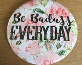Beautiful badges...floral