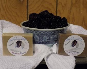 Blackberry Blossom Goat Milk Soap