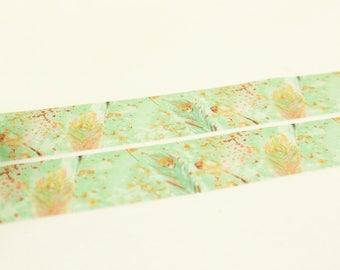 Azzurro - Japanese Wasdhi Masking Tape - 11 Yard