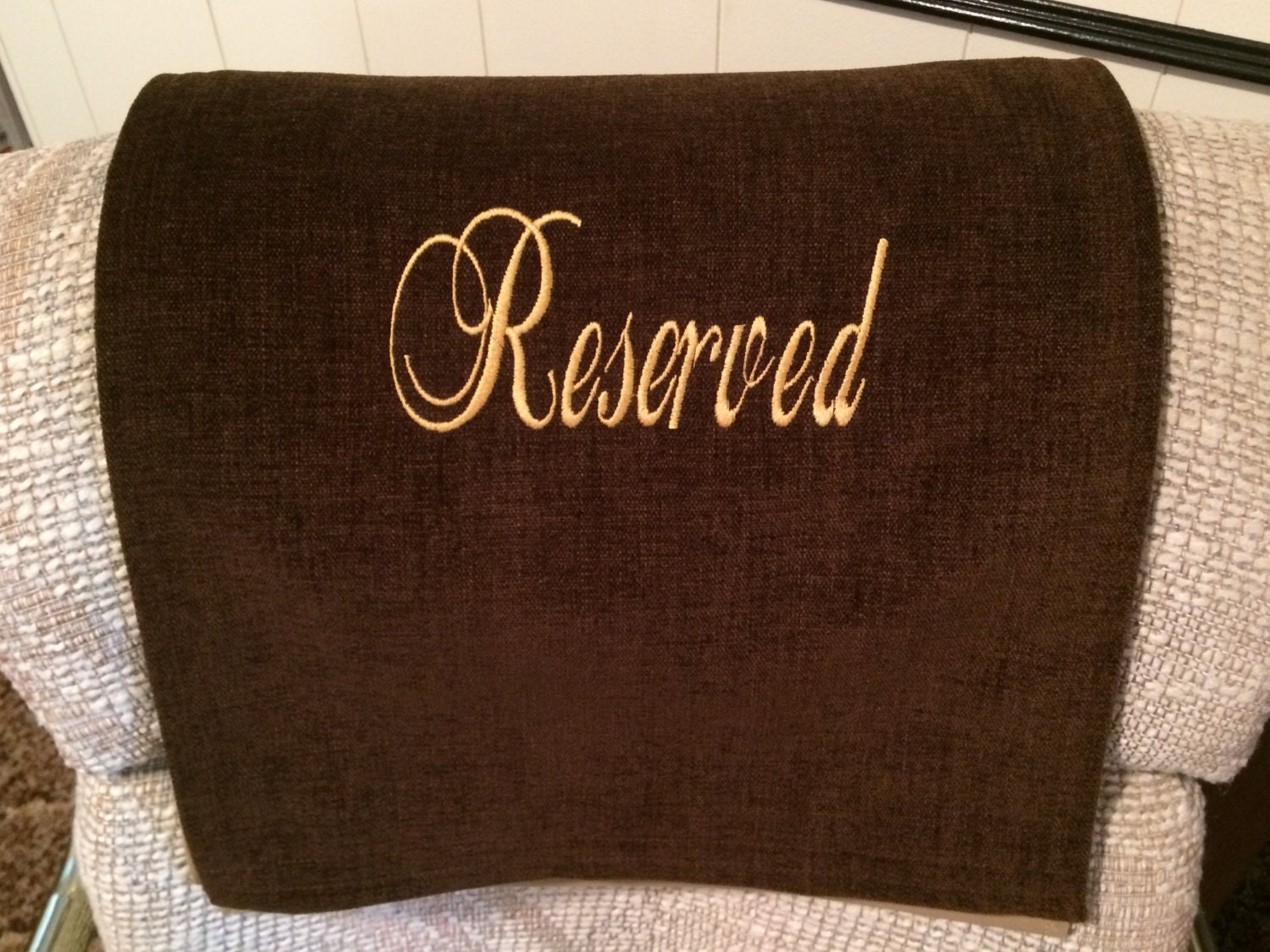 Recliner Cover Chair Headrest Furniture Protector Reserved