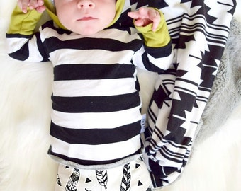 Newborn Boy Two Piece Outfit- Going Home Outfit- Lil Cleo