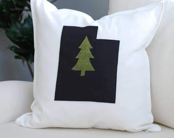 State Pride Utah Pillow