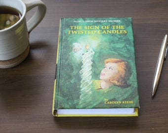 The Sign of the Twisted Candles Nancy Drew Journal
