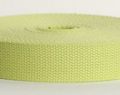"Custom Listing For ADKBaskets: 90% OFF!!! 50 Yard Spool Of 1.25"" Cotton Webbing In Lt Yellow"