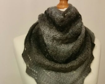 Knitted shawl,knitted scarf,wool shawl,wool scarf, KNIT TO ORDER