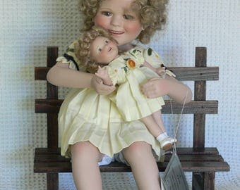 shirley temple doll congtomce 98 danbury mint