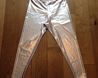 Silver Leggings - 3 Lengths