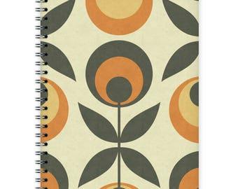 Notebook A5 - Retro Pattern