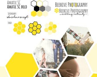Bee Themed Branding Package