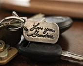 Custom Rush Order for Xmas - Handwriting Keychain