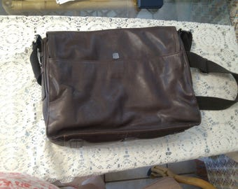 Briefcase or Laptop Leather Case by Fossil