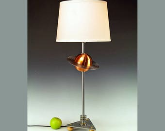 Handmade lamp. Original design by Frank Lüedtke. #255