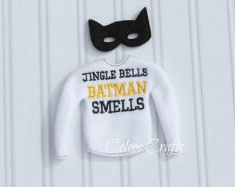 Custom Elf Shirt with Mask * Custom Elf Shirt * Christmas Elf Sweater * Elf Clothes * Elf Costume * Holiday Elf Clothes
