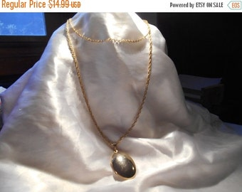 50% OFF SALE Park Lane Double Strand Gold Toned Locket Necklace