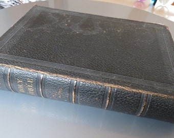 Vintage King James Bible Oxford University Press Late 1800s/Early 1900s Gilt Edged