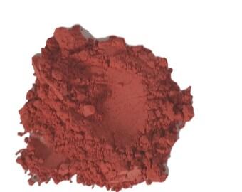 Matte Rosy Dark hot Pink  Makeup Eyeshadow  loose  Eye Shadow   Mineral Makeup Vegan Natural  Pigmented Organic