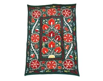 Silk Handmade Modern Suzani L1292