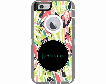 Personalized iPhone 6 & iPhone 6s Flower Girl Otterbox Defender Phone Case | Custom Phone Cases