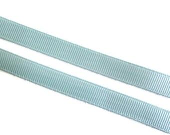 "Sale Light Blue Grosgrain Ribbon. 3/8"" Width. Narrow Grosgrain Ribbon. 5 Yards. No. 305"