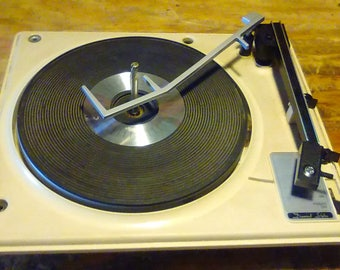 Vintage GE Wildcat - rebuilt  replacement turntable for your GE wildcat record player