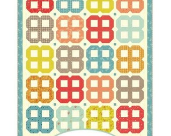 a Quilting Life - Bloom Quilt Pattern