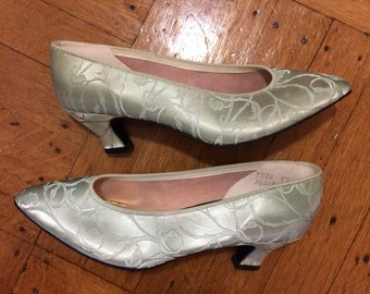 1980s Mint Green Pumps by Thom McAn