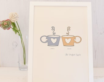 "The Perfect ""cup"" le Love Print"