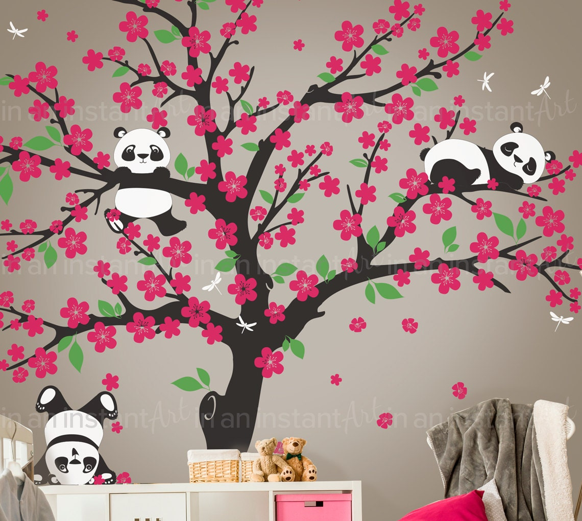 beautiful wandtattoos tree living ideas bedroom home. Black Bedroom Furniture Sets. Home Design Ideas