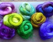 Hope Jacare - Sparkle pack - Mix of different hand dyed sparkly fibres - Sparkle 16