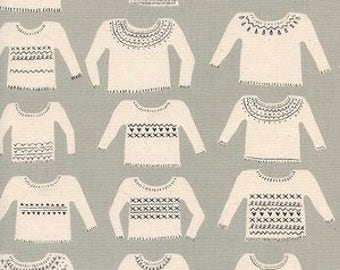 Cozy - My Favorite Sweater in Neutral - Alexia Abegg for Cotton + Steel - (5146-3) - 1/2 Yard