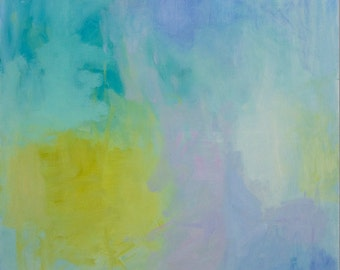 Serenity - Modern Abstract Expressionistic Painting That Expresses Peace